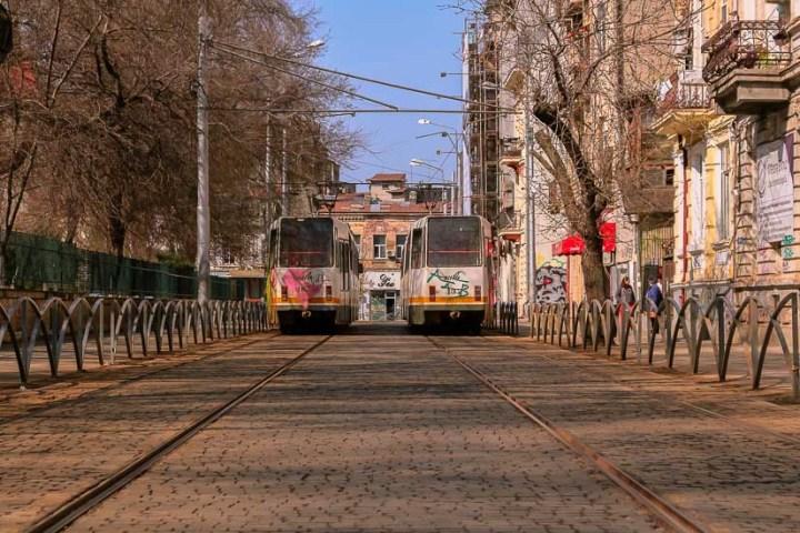 Trrolebus en Bucarest, Rumania