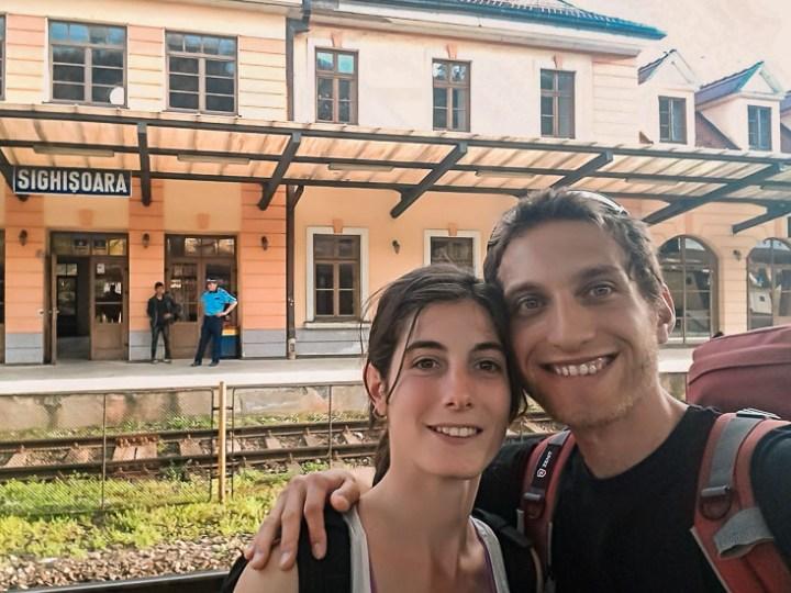 Terminal de tren de Sighisoara, Rumania