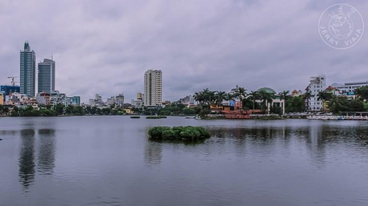 Lago occidental de Hanoi, Vietnam