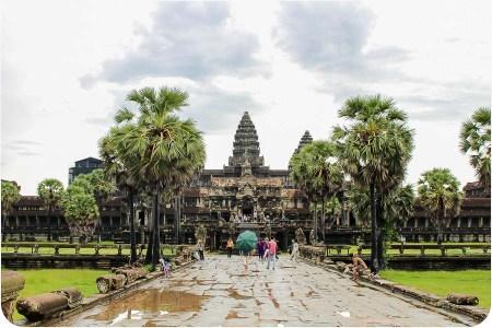 Siem Reap y los Templos de Angkor Wat