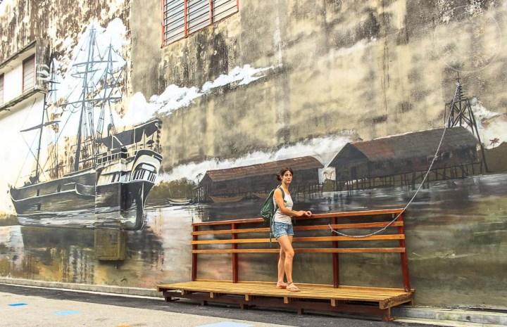 Butterworth Art Walk, Malasia