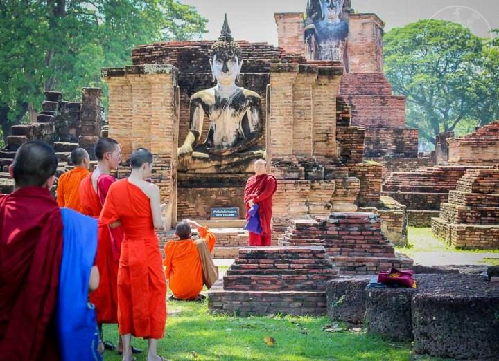Wat Mahathat, Sukhothai, Tailandia