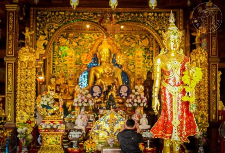 Wat Ming Meuang, Chiang Rai, Tailandia