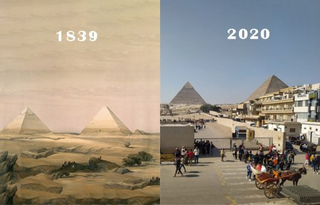 egipto antes y despues ayer y hoy