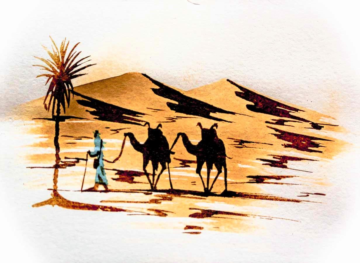 Ruta de las Kasbahs, Desierto del Sahara, Marruecos