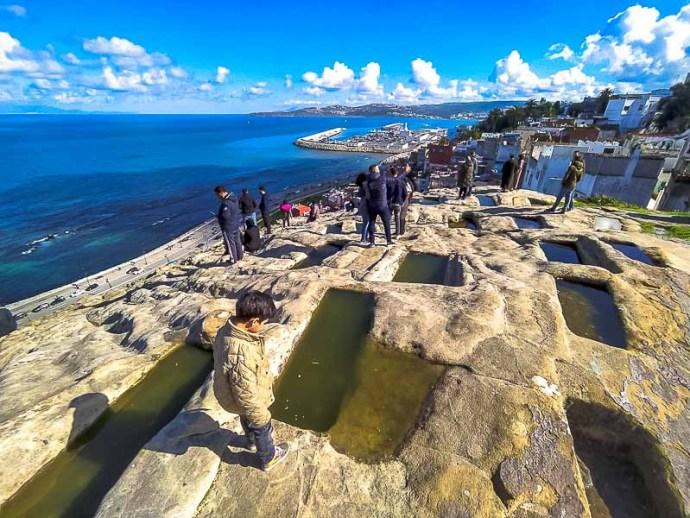 Tombeaux Phéniciens - La necrópolis de Hafa , tangier, marruecos
