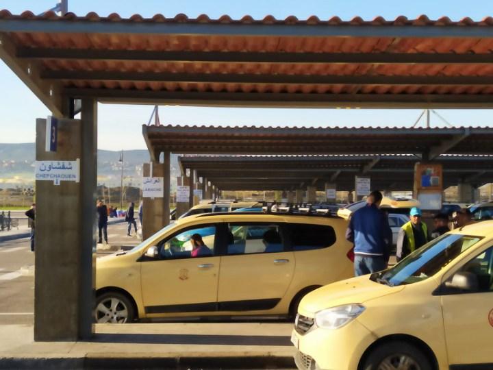 Grand taxi, marruecos
