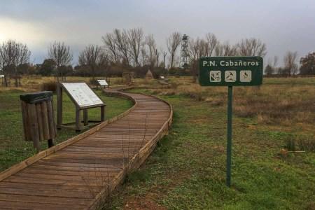 """Senda etnográfica del Centro de Visitantes """"Casa Palillos"""".  Parque Nacional de Cabañeros."""