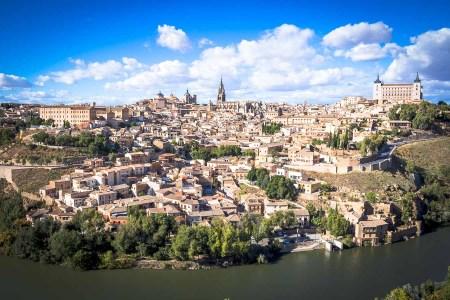 Vista panoramica 360 de Toledo