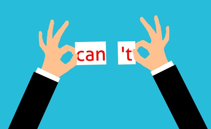 Can T Can Motivation Positivity  - mohamed_hassan / Pixabay