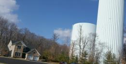princeton manor water towers