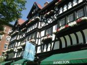 Tudor facade of Hamilton Jewelers http www hamilto
