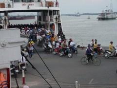 Ferry deboards - more bikes!