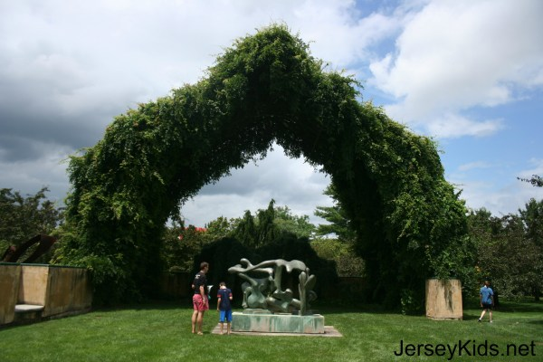 Grounds Sculpture - Jersey Kids