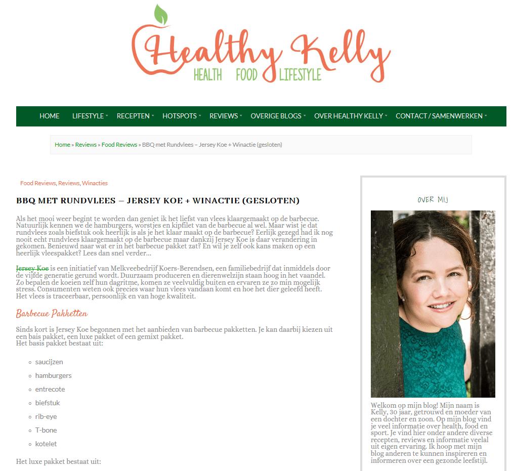 Healthy Kelly Blog