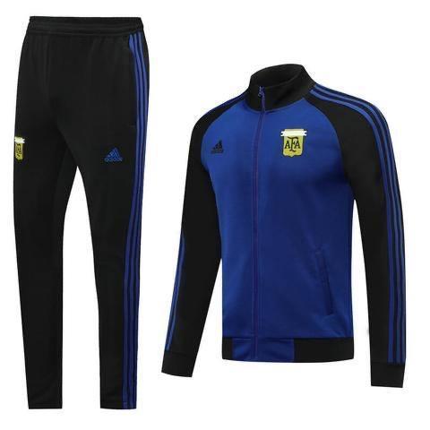 20/21 Argentina Blue/Black Tracksuit - Jersey Loco