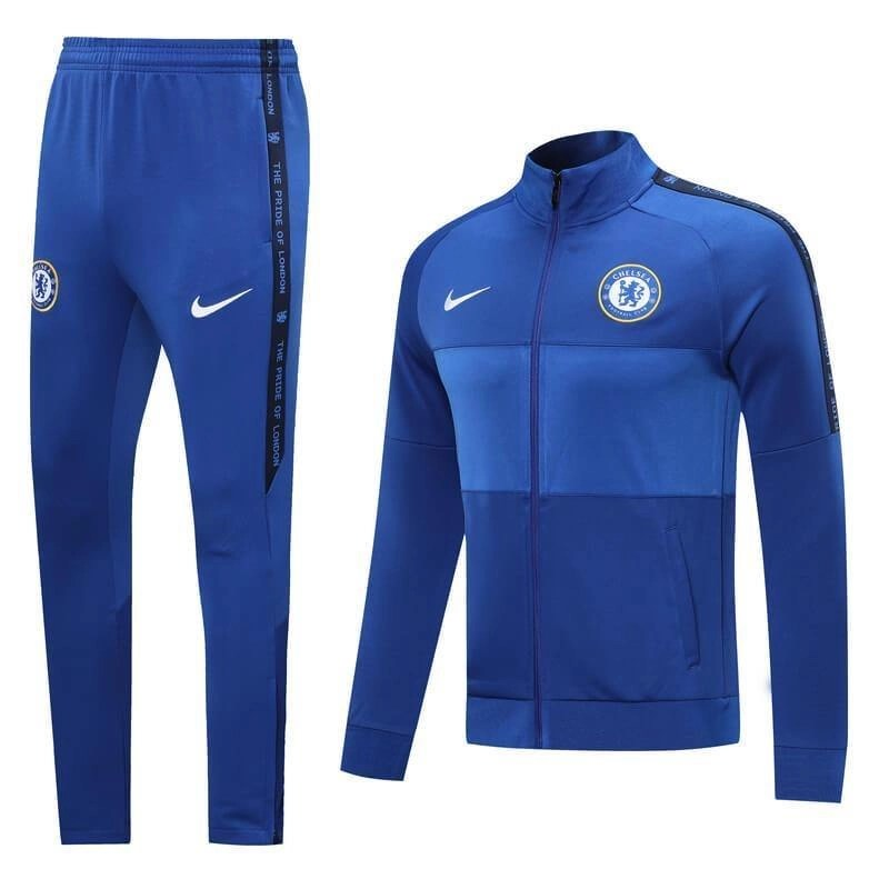 20/21 Chelsea Blue Tracksuit - Jersey Loco