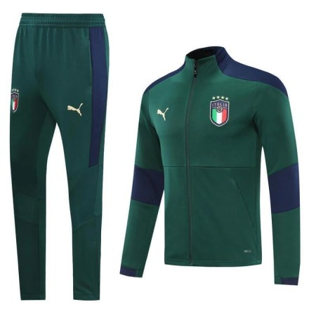 20/21 Italy Green Tracksuit - Jersey Loco