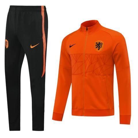 20/21 Netherlands Orange Tracksuit - Jersey Loco