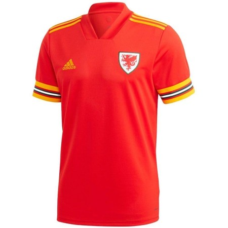 Wales 20/21 Home Jersey - Jersey Loco