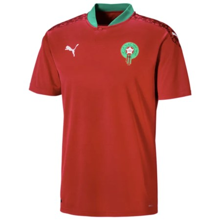 Morocco 20/21 Home Jersey - Jersey Loco