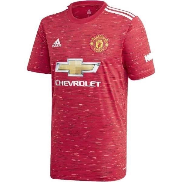 20/21 Manchester United Home Jersey - Jersey Loco