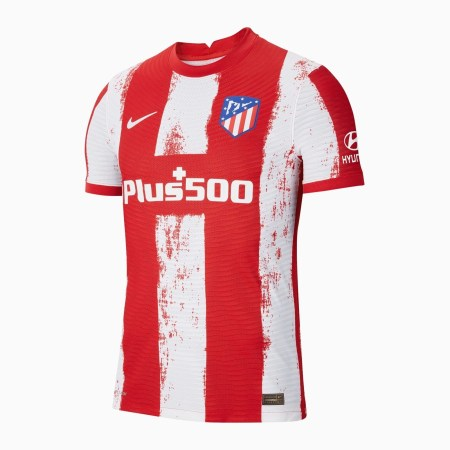 21/22 Atletico Madrid Home Kit Front Image