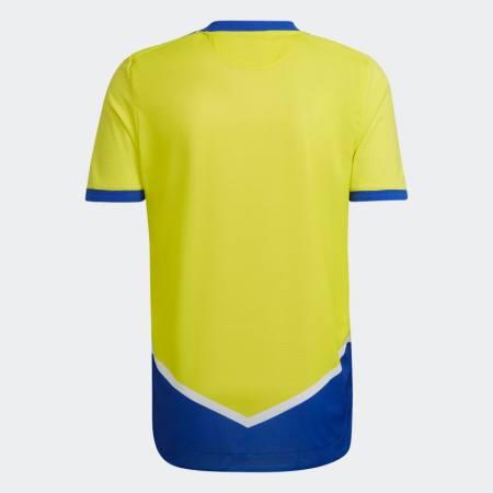 21/22 Juventus Third Kit Back Image