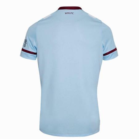 21/22 West Ham United Away Kit Back Image