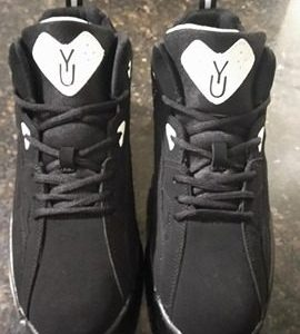Yuchii First Edition Sneaker Black & White with Black Back
