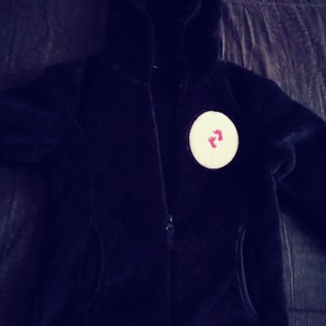 MKBSY Black Sweatsuit With Pink T-Shirt