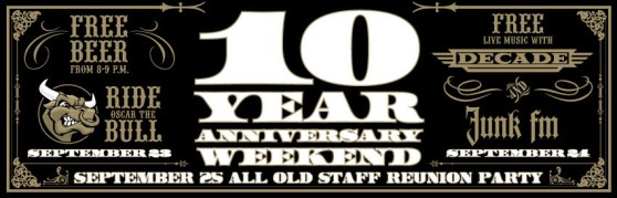 Jerseys 10 Years With Decade, Junk FM, Oscar The Bull & More!