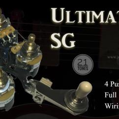 Wiring Diagram For Les Paul Style Guitar 3 Pole 4 Wire Grounding Jersey Shore Garage Your Source Custom And Authentic