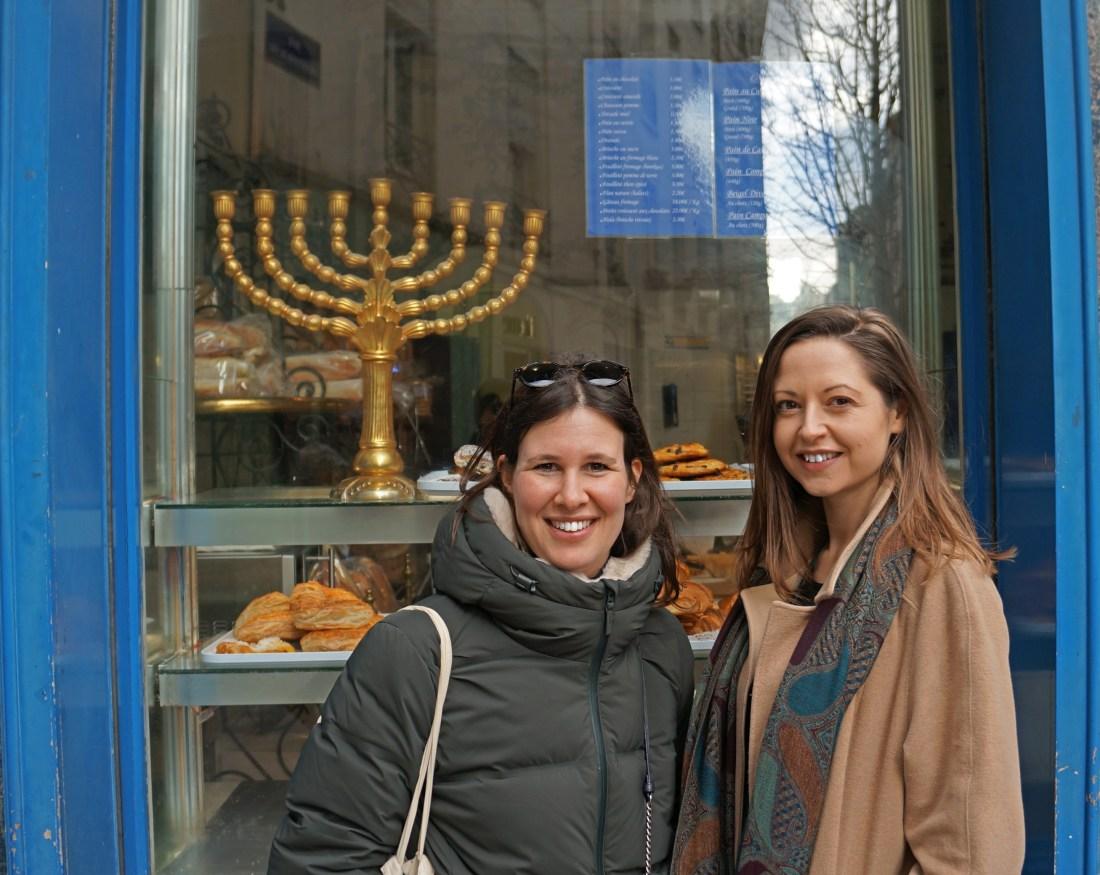 Flora Goldenberg Tour Guide in Paris for jewish walking tours, le marais