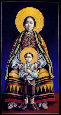 Seminole Madonna and Child