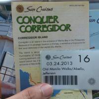 There it was: Corregidor Island Walk of Bombs, Big Guns and Lost Gold