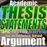 Thesis Statement Hacks: How to Write a Thesis for Academic Essays