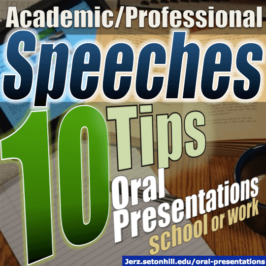 Oral Presentations Tips On How To Deliver A Speech For School Or