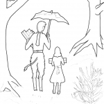 The Lion The Witch And The Wardrobe Coloring Pages Queen
