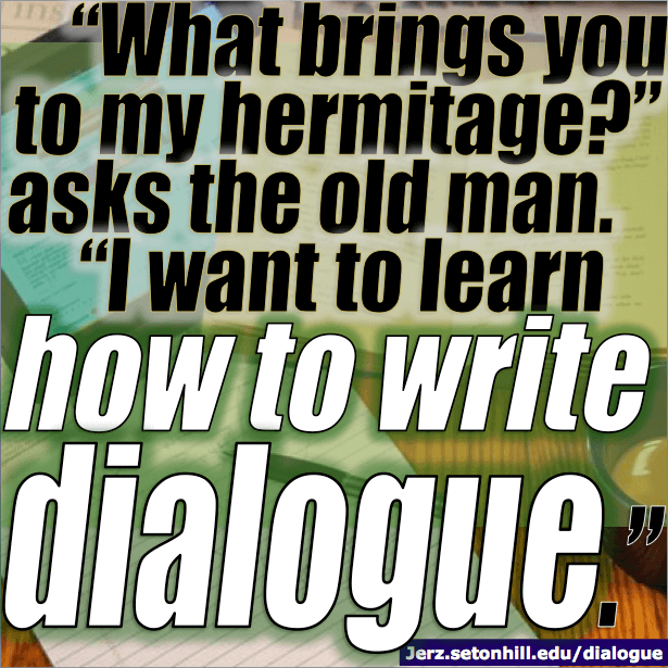 Writing Effective Dialogue (Punctuation and Actions in Creative Writing)