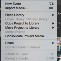 iMovie Glitch: Unplug Removable Media before Using iMovie
