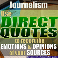 Quotations: Using them Effectively in Journalism