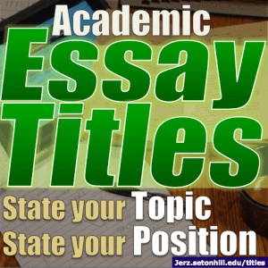 How to put an essay in mla format