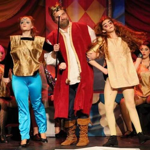 Pippin! Last show today at 2pm.