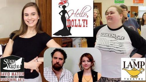 Stage Right Arts4Homeschoolers present Hello Dolly Apr 28 & 29.