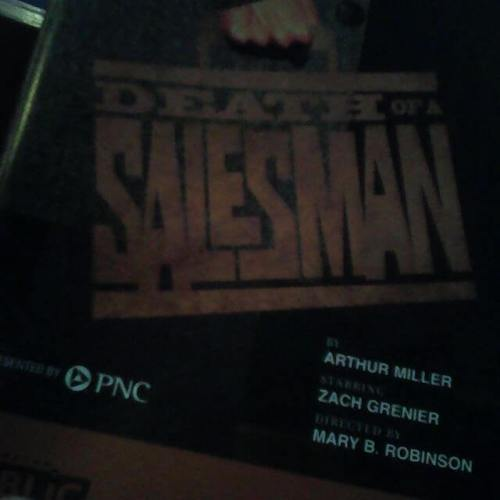 Salesman at Pittsburgh Public Theatre.
