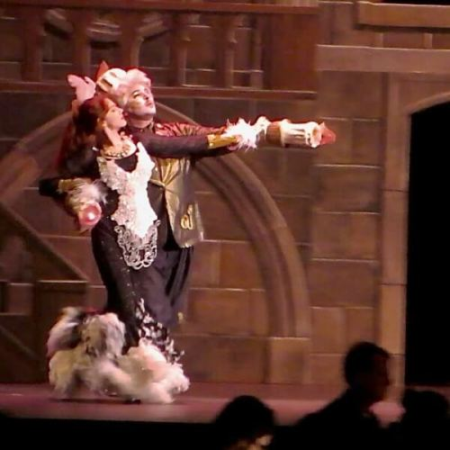 Carolyn and Nick in Beauty and the Beast