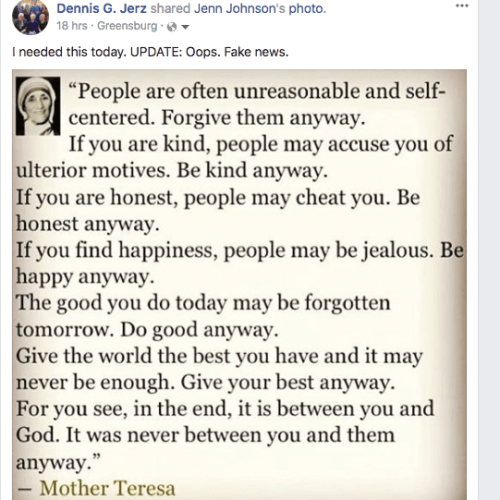 See https://quoteinvestigator.com/category/mother-teresa/