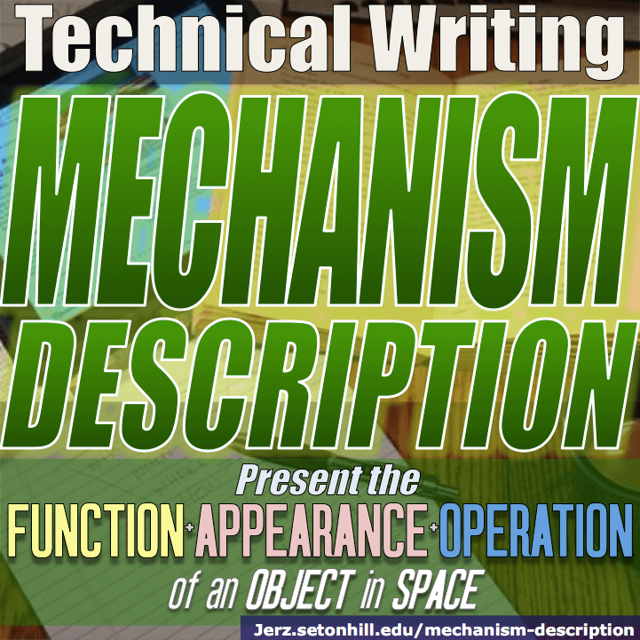 technical object description paper
