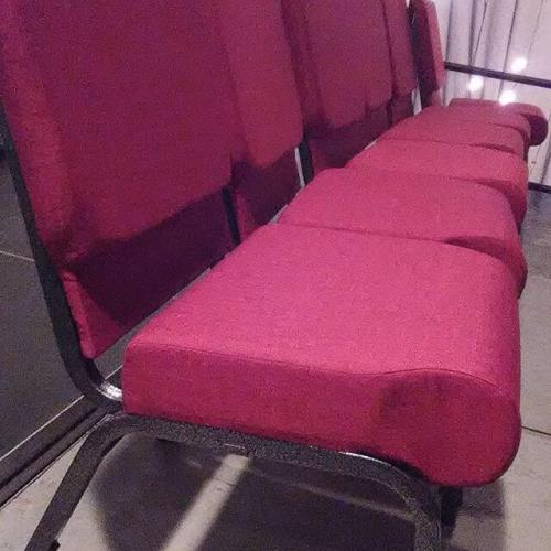Brand new chairs for PICT draw applause.
